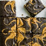 Gluten Free Black Cocoa and Almond Butter Brownies